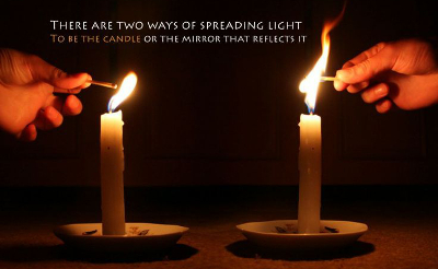 Are You the Candle or the Mirror? - Margaret Meloni