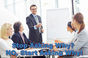 Stop Asking Why? NO, Start Asking Why!