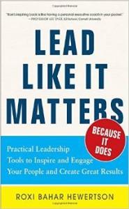 Lead like it matters